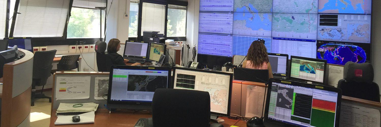INGV sala sismica